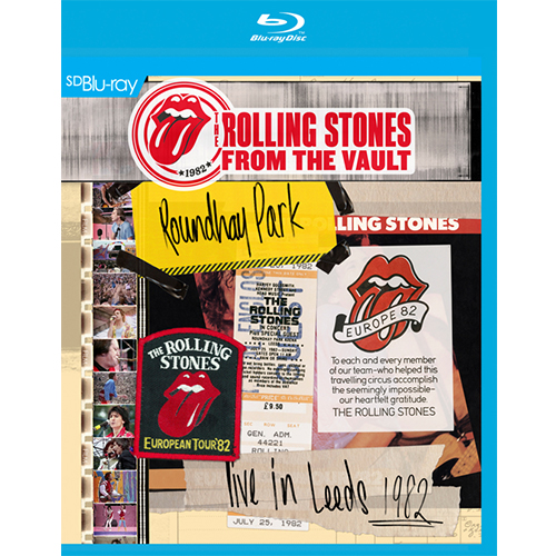 Rolling Stones -- From The Vault – Live In Leeds 1982 (SD Blu-ra